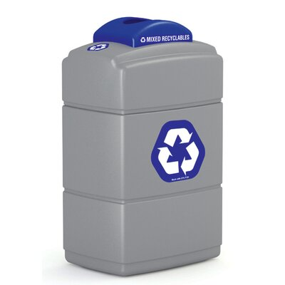 Commercial Zone Green Zone 40 Gallon Recycling Bin