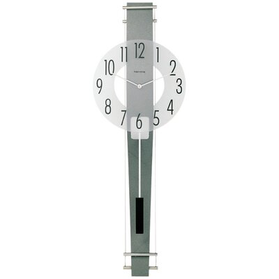 Wall Clock with Curved Rear Panel