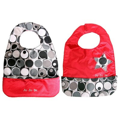 Ju Ju Be Be Neat Bib in Midnight Eclipse