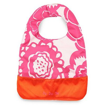 Ju Ju Be Be Neat Bib in Fuchsia Blossoms