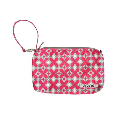 Ju Ju Be Be Quick Pouch Diaper Bag in Pink Pinwheels