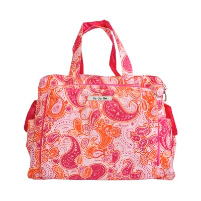 Be Prepared Messenger Diaper Bag in Perfect Paisley
