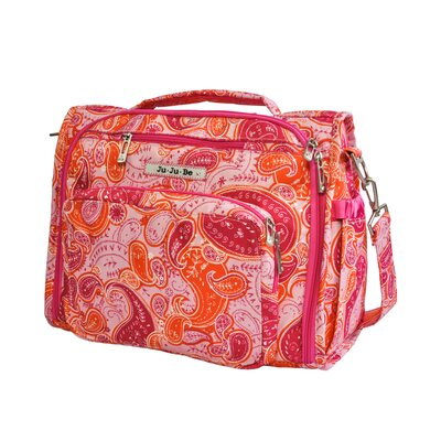 Ju Ju Be BFF Messenger / Backpack Diaper Bag in Perfect Paisley