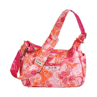 Ju Ju Be Hobo Be Messenger Diaper Bag in Perfect Paisley