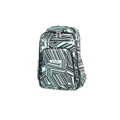 Be Right Back Backpack Diaper Bag in Mint Chip
