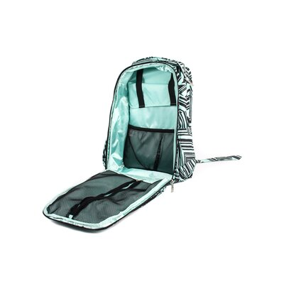 Ju Ju Be Be Right Back Backpack Diaper Bag in Mint Chip