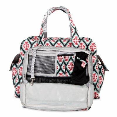 Ju Ju Be Be Prepared Messenger Diaper Bag in Dreamy Diamonds