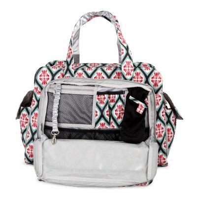 Ju Ju Be Be Prepared Messenger Diaper Bag in Dreamy Diamonds