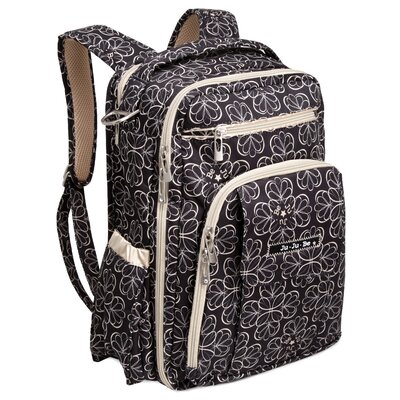 Ju Ju Be Be Right Back Backpack Diaper Bag in Lotus Lullaby
