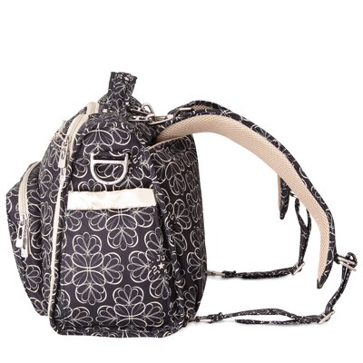 BFF Messenger / Backpack Diaper Bag in Lotus Lullaby