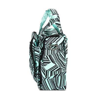 Ju Ju Be Be Prepared Messenger Diaper Bag in Mint Chip