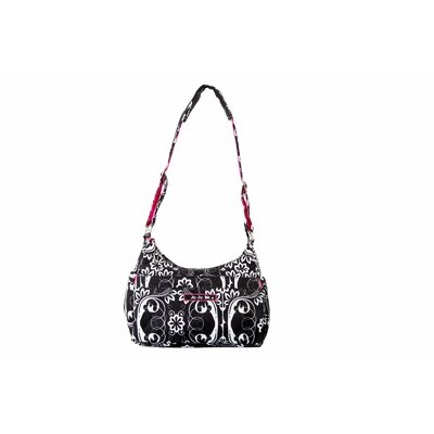 Ju Ju Be Hobo Be Messenger Diaper Bag in Shadow Waltz