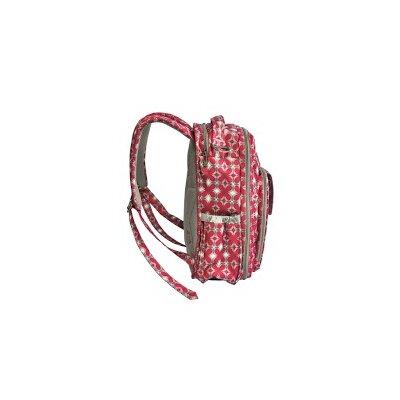 Ju Ju Be Be Right Back Backpack Diaper Bag in Pink Pinwheels