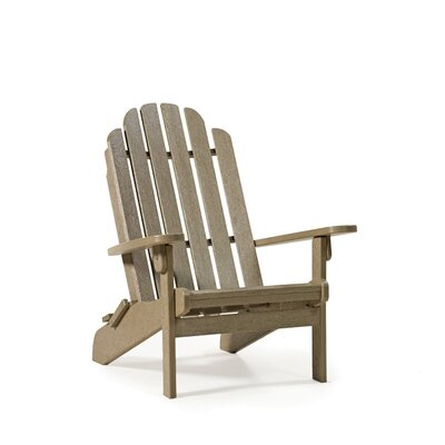 Siesta Bayfront Folding Adirondack Chair and Ottoman
