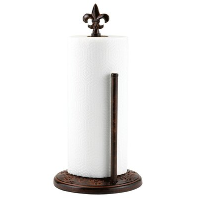 Versailles Standing Paper Towel Holder