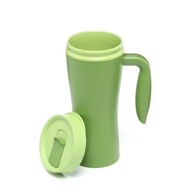 Aladdin Recycled and Recyclable Travel Mug in Green