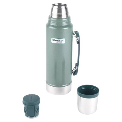 Aladdin 1 Quart Unbreakable Steel Thermos in Green