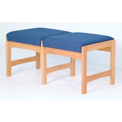 Wooden Mallet Dakota Wave Two Seat Bench