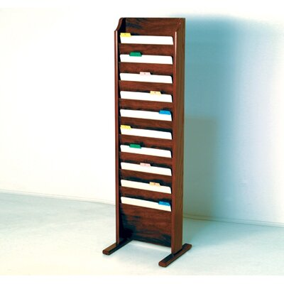 Free Standing Ten Pocket Chart Holder
