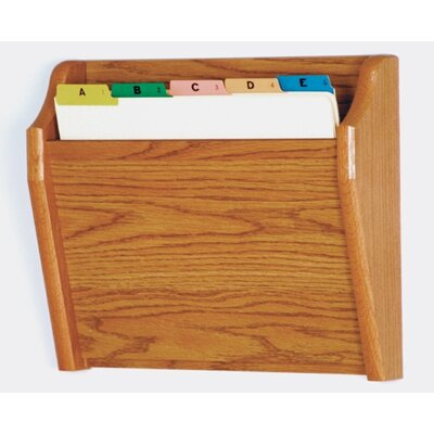 Wooden Mallet Single Tapered Pocket Chart Holder