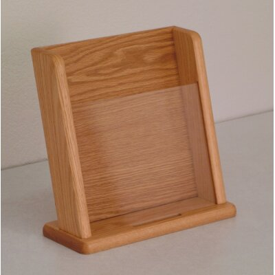 Wooden Mallet Countertop 1 Pocket Display