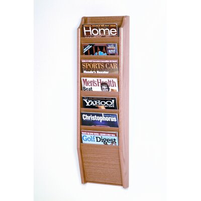 Wooden Mallet Seven Pocket Legal Size File Holder
