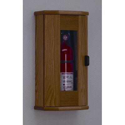 Wooden Mallet Fire Extinguisher Cabinet with Acrylic Door Panel