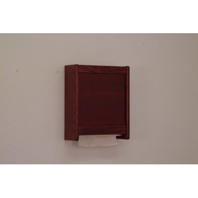 Wooden Mallet Paper Towel Dispenser