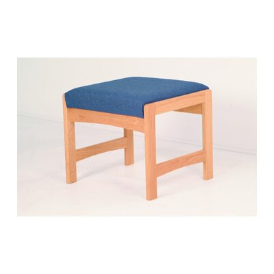 Wooden Mallet Dakota Wave Bench with Designer Fabric
