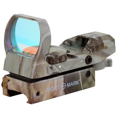 Sure Shot Reflex Sight with Dove Tail in Camo