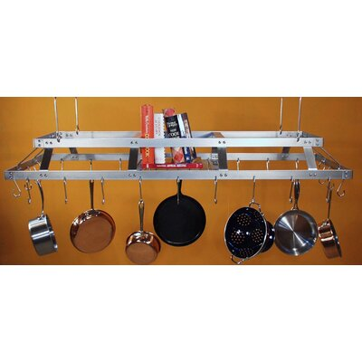 HSM Racks Commercial Kitchen Hanging Pot Rack