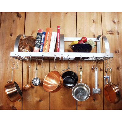 HSM Racks Wall Mounted Pot Rack