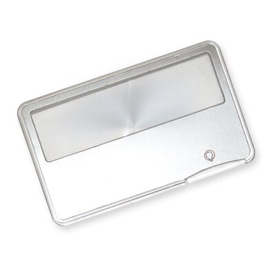 Carson MagniCard 3x LED Lighted Credit-Card Size Magnifier