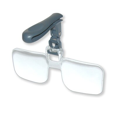 Carson VisorMag 1.75x Clip-On Magnifying Lens for Hats