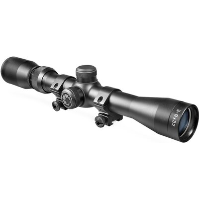 3-9x32 Plinker-22 Riflescope, Black Matte, 30/30, with 3/8