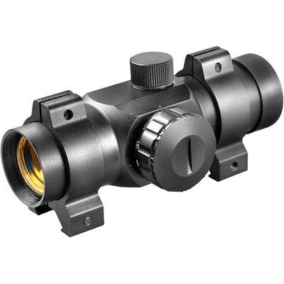 25mm DC Riflescope, (30mm Tube), Dual-Color Reticle with Rings, 3/8