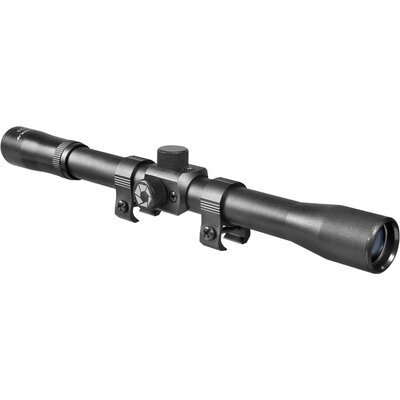 4x15 Rimfire Riflescope, Black Matte, 30/30 with Std ring