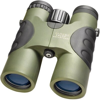 10x42 WP Atlantic Binoculars, Bak-4, Blue Lens