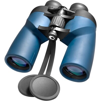 7x50 WP Deep Sea Porro Binoculars, Bak-4, Fully Multi-Coated, Green Lens