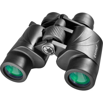 Barska 7-20x35 Zoom Escape Binoculars, Porro, MC, Green Lens