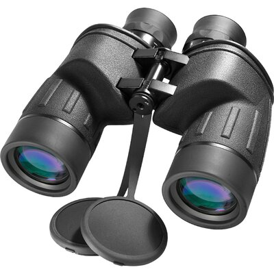 7x50 WP Battalion Binoculars, with Internal Rangefinder and Compass, Bak-4, FMC, Close Focus