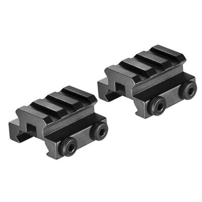 Barska Picatinny Mounts with Rail (Set of 2)