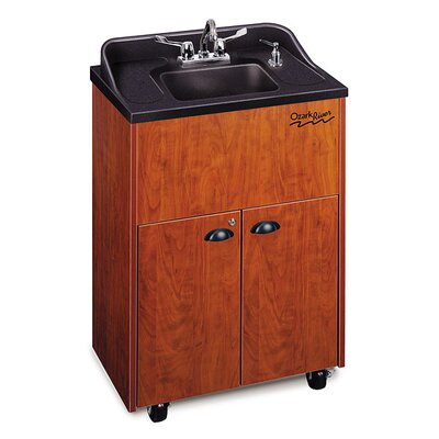 "Ozark River Portable Sinks Premier 26"" x 18"" Portable Hand-Washing Station with Storage Cabinet"