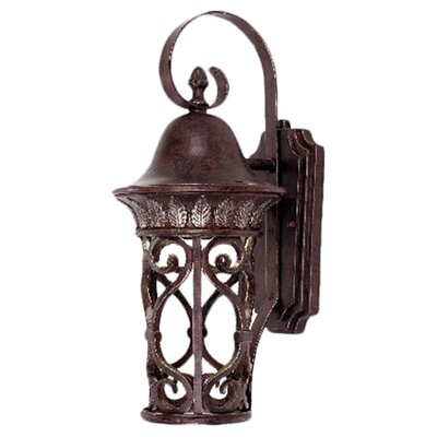 <strong>Savoy House</strong> Aficianado Dark Sky 1 Light Outdoor Wall Lantern