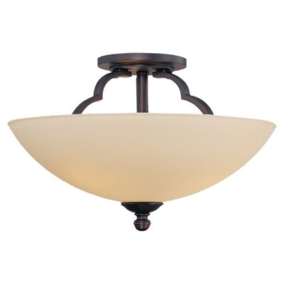Marcelina 3 Light Semi Flush Mount
