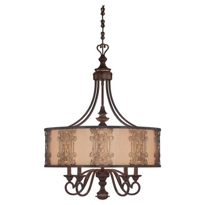 gold fabric lighting wayfair