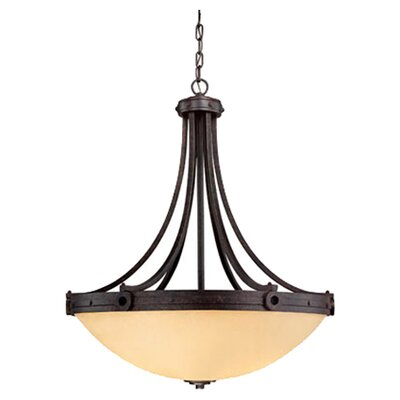 <strong>Savoy House</strong> Elba 4 Light Inverted Pendant