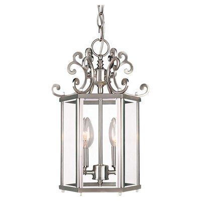 Wildon Home ® Spirit 2 Light Foyer Pendant