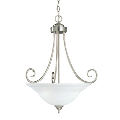 Savoy House Adirondack 3 Light Inverted Pendant