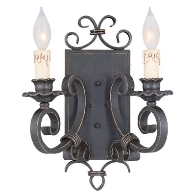 Savoy House Bourges 2 Light Wall Sconce